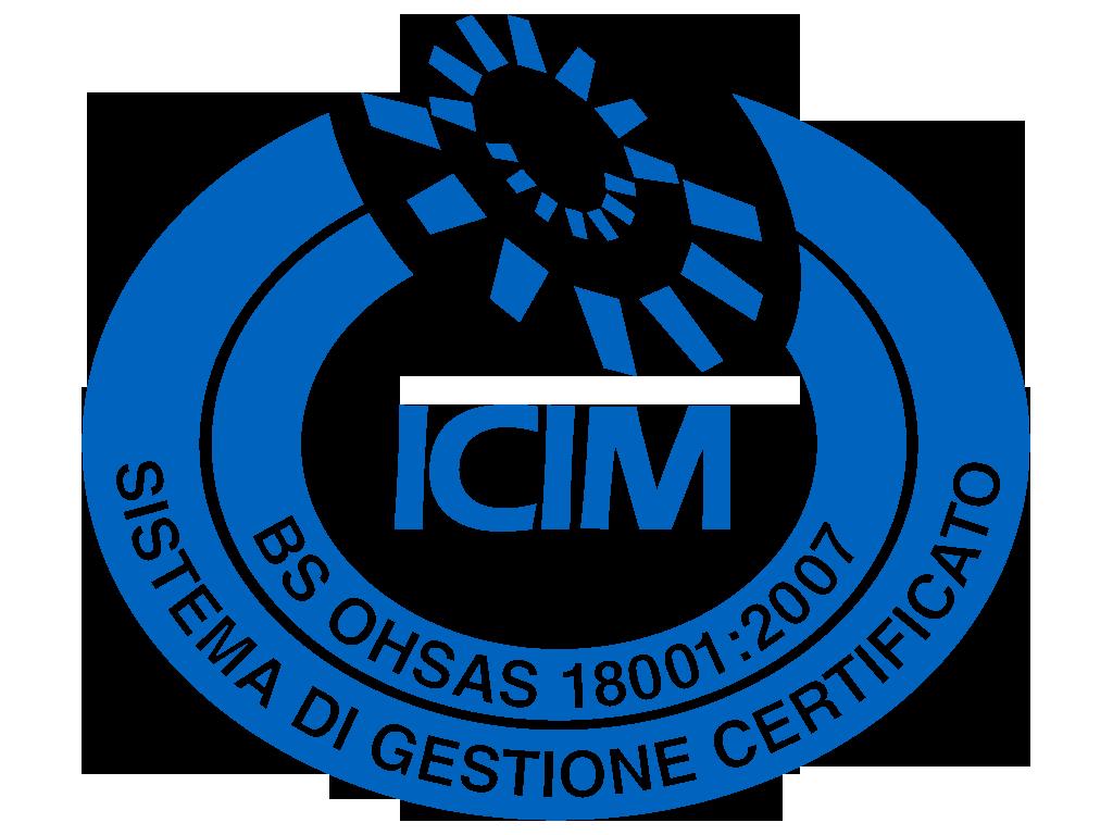 Logo certificazione BS OHSAS 18001:2007